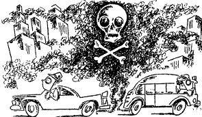 Infarto riesgo por la contaminación