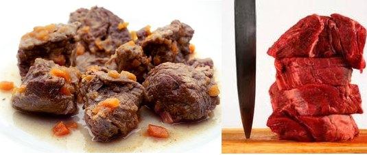 carne cocinada