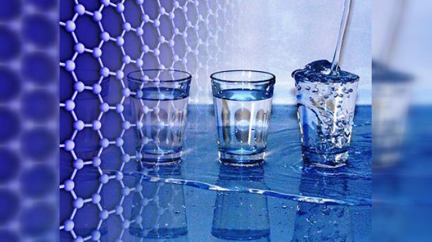 Convierten agua salada en potable con un filtro de grafeno