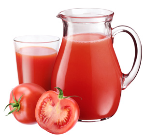 Comida del AVION SOLUCION Zumo Tomate