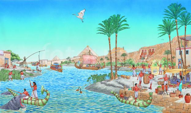 Tecnología naval en el Antiguo Egipto