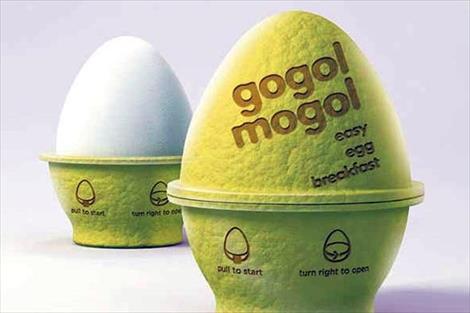Gogol mogol el envase de huevos del futuro