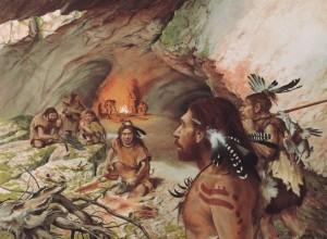 Neandertales Cocina y Sala de Estar