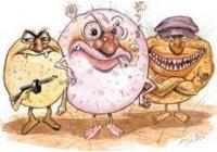 BACTERIAS y VIRUS, que son oxidados matados eliminados por OZONO