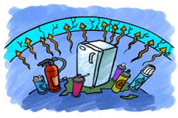 Capa de Ozono daño sustancias quimicas