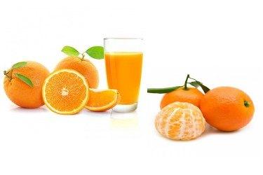 Naranja y Mandarina mimadas con OZONO