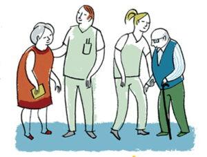TRABAJADORES de RESIDENCIAS de mayores
