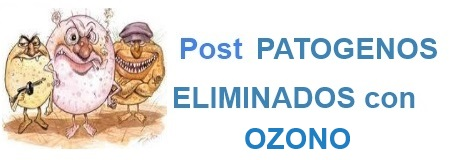 POST PATOGENOS ELIMINADOS con OZONO